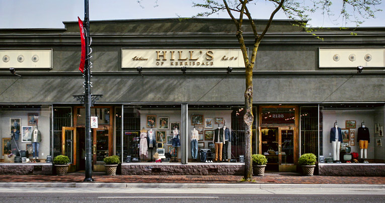 Kerrisdale Clothing Stores